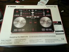 Vestax TYPHOON  DJ USB MIDI Controller Slightly Used ~ Full KIt