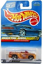2000 Hot Wheels #16 Snack Time Dodge Sidewinder mustard