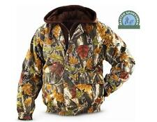 2XL Sherbrooke CAMOUFLAGE Camo INSULATED QUILTED Bomber JACKET w/FLEECE Hood