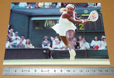 PHOTO CARTE L'EQUIPE TENNIS 2005 WIMBLEDON SERENA WILLIAMS TENNISWOMAN