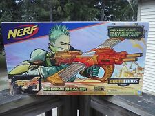 NEW NERF DOUBLE DEALER SLAM FIRE DART GUN DOOMLANDS blaster TOYS