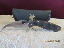 RARE Vintage Spyderco Civilian knife DISCONTINUED C12TUFS