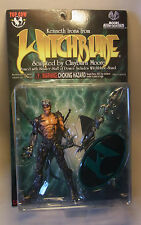 Vintage 90s Witchblade Comic Action Figur KENNETH IRONS Top Cow 1998 OVP