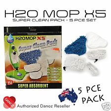 Danoz Direct H20 X5 Microfiber Super Clean Pack [ 5 PIECE PACK ] + FAST POST