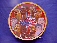 Sports Impressions *FIRST TEN CHOSEN* 5503-03 Basketball Plate '92 LE Ret MIB