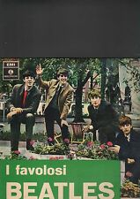 BEATLES - i favolosi beatles LP italy press
