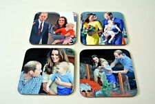 Kate Price William and Royal Baby George Tour COASTER Set