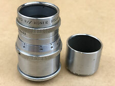"Wollensak 75mm f/4 lens 3"" Raptar Cine Lens Bell & Howell 16mm,C-mount Micro 4/3"