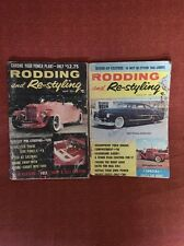 RODDING AND RE-STYLING 1957 Magazine Lot Of Two (7027)