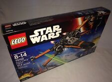 Brand New! LEGO Star Wars #75102 Poe's X-Wing Fighter Force Awakens Damaged Box.