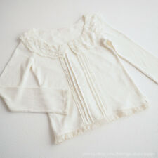 LIZ LISA Spring Lace-collar Tops/Blouse Dress Sweet street Lolita Kawaii Japan