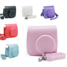 Instax Mini 8 Camera Leather Case  Shoulder Bag Cover For Fujifilm Fuji Polaroid