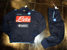 FW13 SSC NAPOLI TG M TUTA UFFICIALE OFFICIAL TRACKSUIT SURVETEMENT SUDADORA