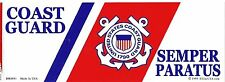U.S. Coast Guard  BUMPER STICKER made in USA