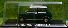 MINI COOPER S 1:43 Car model die cast models cars diecast green metal