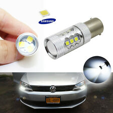 2 CANbus White SAMSUNG LED Bulbs Fit Volkswagen Jetta MK6 Daytime Running Lights