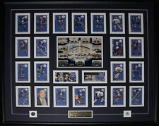 Toronto Maple Leaf Gardens with card set signed by Red Kelly Johnny Bower Eddie