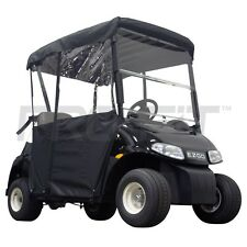 2 Passenger Enclosure for EZGO RXV Golf Carts in Black | PF11352