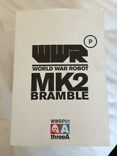 3A ThreeA WWR MK2 Bramble RARE World War Robot Ashley Wood - Appears Unused