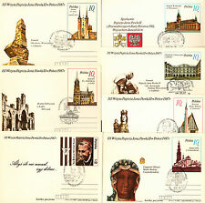 Poland Cp 1987 + Ck 72 - III visit of Pope John Paul II in Poland /#8