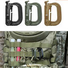 EDC Keychain Carabiner Molle Tactical Backpack Shackle Snap D-Ring Clip