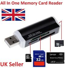All in One All in 1 USB MEMORY CARD READER ADATTATORE PER MICRO SD MMC SDHC TF m2