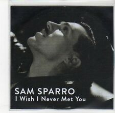 (DL741) Sam Sparro, I Wish I Never Met You - DJ CD