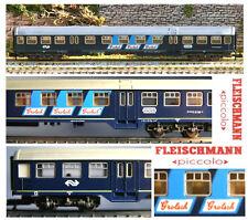 FLEISCHMANN 8156 VINTAGE CARROZZA PASSEGGERI Grolsch-Amsterdam NS in OVP SCALA-N