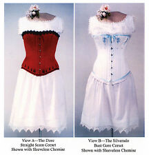 Victorian Corset, Drawers & Chemise Underwear Laughing Moon Sewing Pattern # 100