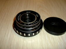 Rare Industar 69 2,8/28mm LUMIX micro 4/3 mount.BMPCC Cover all sensor  camera