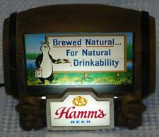 Hamm's Beer Flip Display Sign w/Eight Classic Hamms Images: Lake Bear Mug Bottle