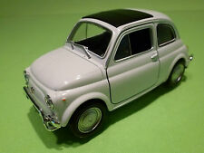 WELLY  1:24?  FIAT 500  WHITE  - RARE SELTEN - GOOD CONDITION
