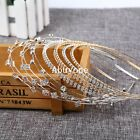 Fashion Women Metal Crystal Rhinestone Jewelry Headband Head Piece Hair Band