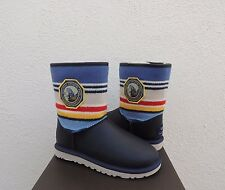 UGG NAVY GRAND CANYON PENDLETON LEATHER SHEEPSKIN BOOTS, US 6/ EUR 37 ~ NIB