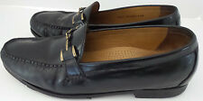 Cole Haan Nike Air Size 11M Mens Loafers Black Leather Buckle Casual or Dress
