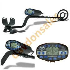 Metal Detector Bounty Hunter Pro Gold Coil Search Deep Waterproof LCD Pinpointer