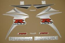 GSX-R 750 2007 complete moto decals stickers graphics kit set k7 aufkleber logo