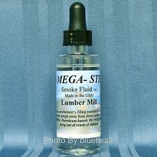 LUMBER MILL Scented Smoke Unit Fluid For MTH O Steam Diesel Engines Book Catalog