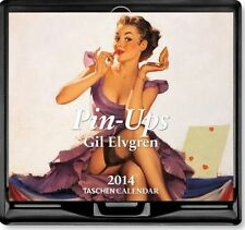 PIN-UPS Desk Diary / Calendar 2014 - - by Taschen - - Gil Elvgren 365 pages art