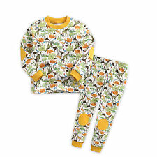 "Vaenait Baby Toddler Boy Girl Clothes Sleepwear Pyjama""Zambia Yellow"" XS(12-24M)"