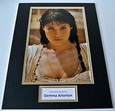Gemma Arterton SIGNED autograph 16x12 photo display Prince of Persia Film & COA