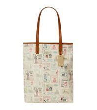 HARRODS Limited Edition NEGOZIO VINTAGE DESIGN segni Medium Tote Bag-regalo di lusso