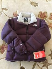 BNWT NEW North Face Women's Nuptse Jacket Purple XS Retails For $199