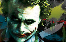 "The Joker The Dark Knight ""Put a Smile on Your Face"" 11 x 17 high quality poster"