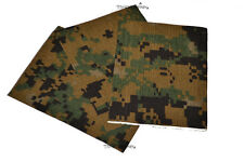 USMC ILBE ASSAULT PACK MARPAT CORDURA IRON OR SEW ON REPAIR PATCH PACK OF 3