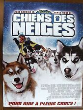 AFFICHE - CHIENS DES NEIGES CUBA GOODING JR BRIANT LEVANT WALT DISNEY