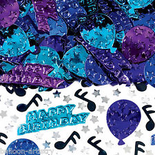 2 Bags Happy Birthday Blues Music Party Embossed Confetti Table Sprinkles