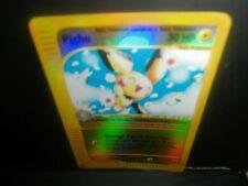 _Pokemon PICHU HP30 22/165 REVERSE HOLOFOIL!  2002 NINTENDO  MT/NM