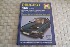 REVUE TECHNIQUE PEUGEOT 405 BERLINE ET BREAK DIESEL