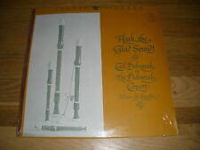 CARL DOLMETSCH CONSORT hark the glad sound Recorder LP Record - Sealed